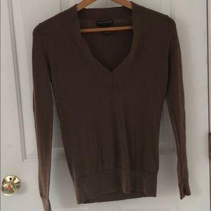 Small Banana Republic merino brown sweater